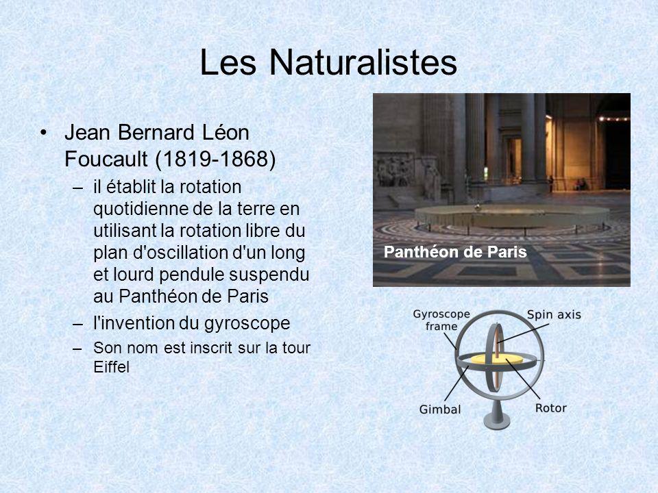 Les Naturalistes Jean Bernard Léon Foucault (1819-1868)