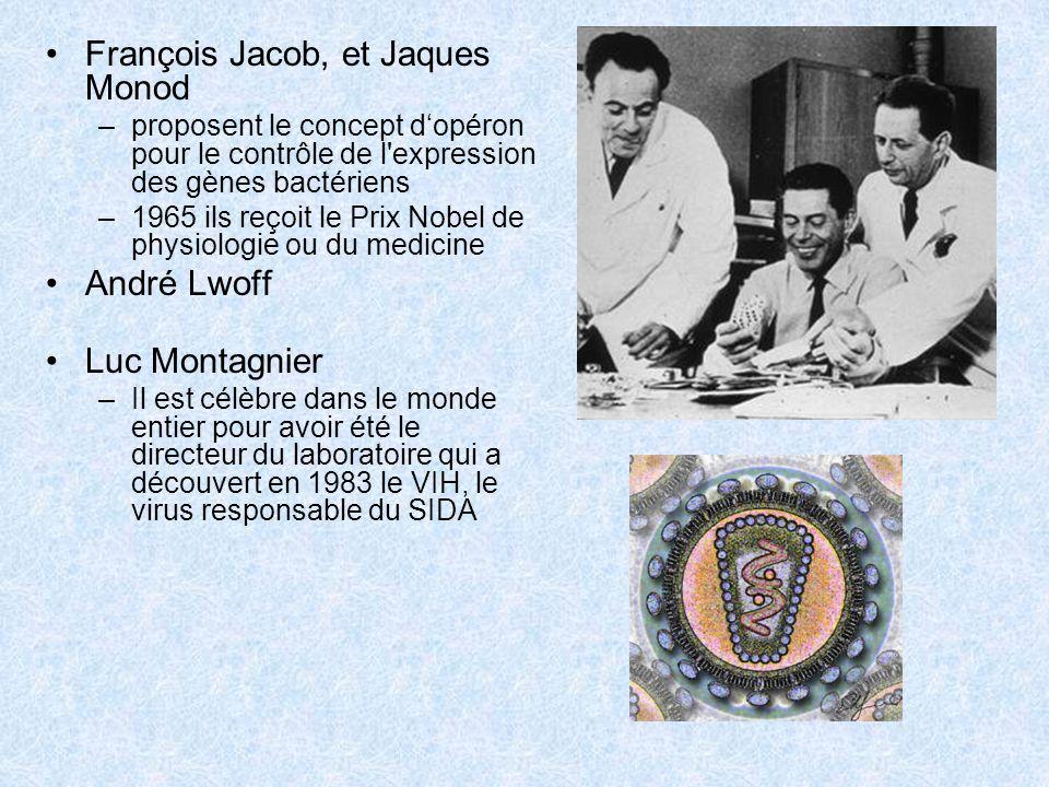 François Jacob, et Jaques Monod