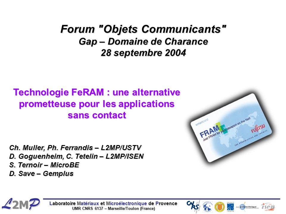 Forum Objets Communicants Gap – Domaine de Charance