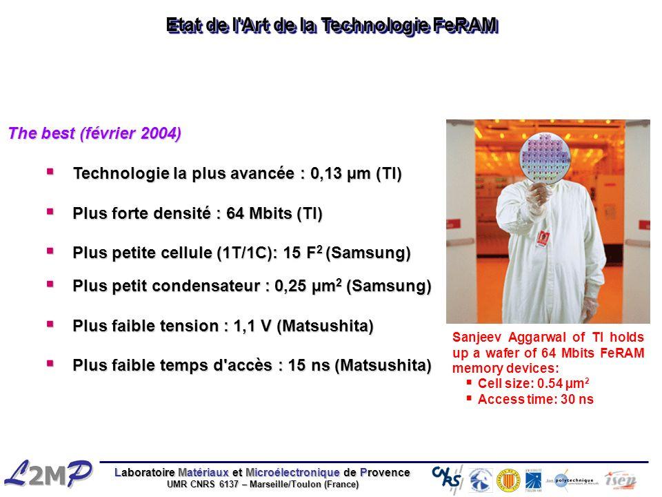 Etat de l Art de la Technologie FeRAM