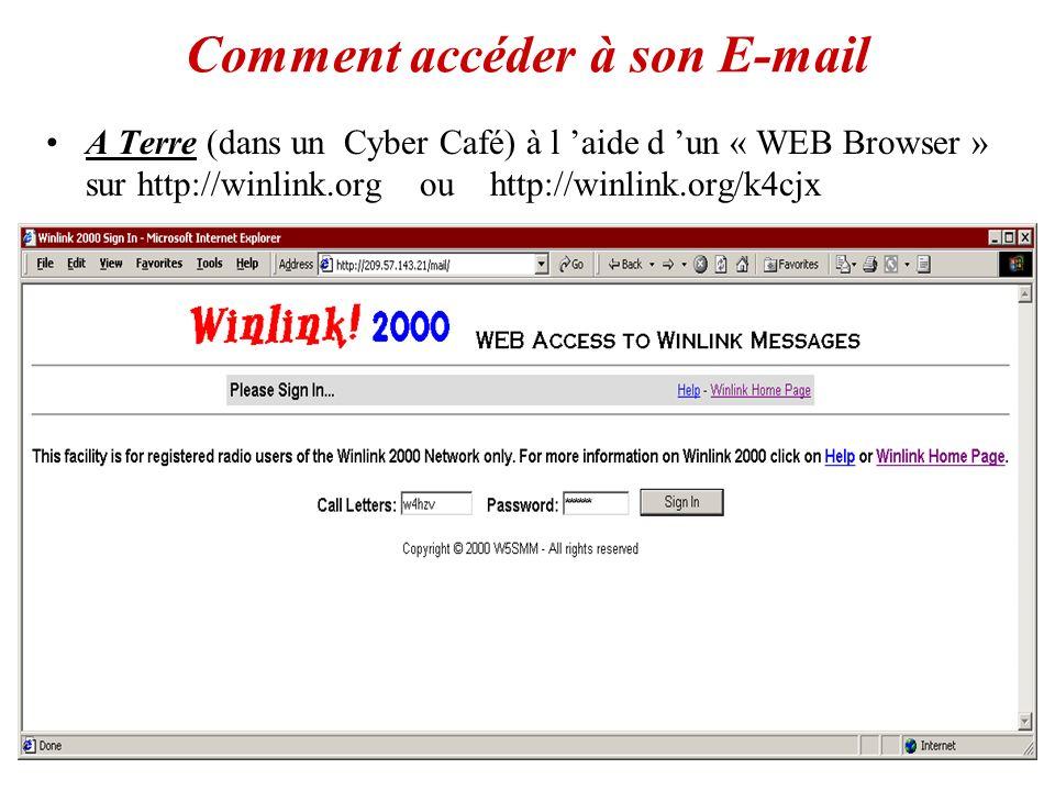 Comment accéder à son E-mail