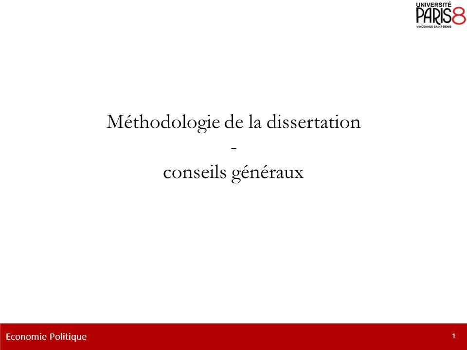 introduction dissertation economie I-l'introduction : lieux de pouvoir il s'agit donc ici de faire la méthodologie de la dissertation, de l'introduction jusqu'à la conclusion i.