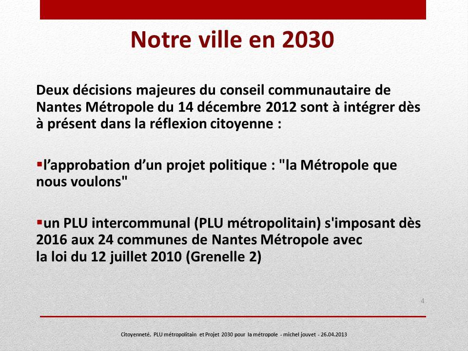 Notre ville en 2030