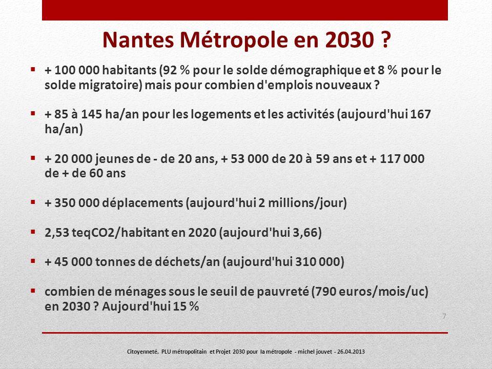 Nantes Métropole en 2030