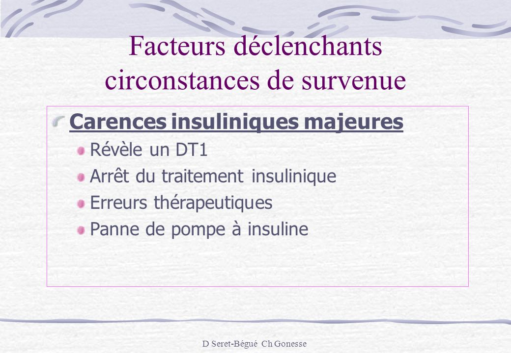 Acidocétose diabétique - ppt video online télécharger