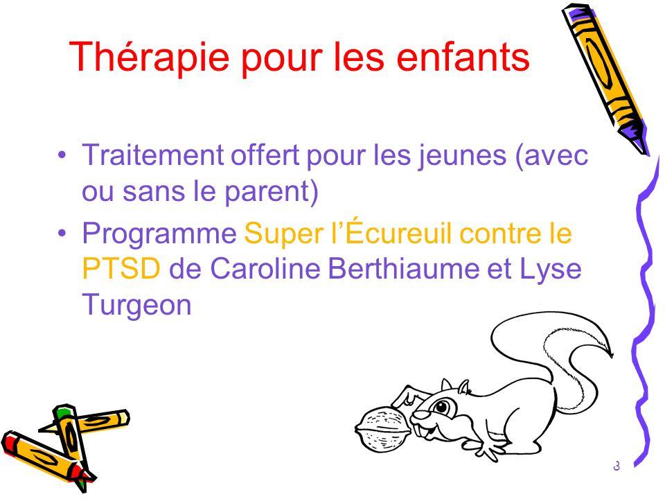 Thérapie pour les enfants
