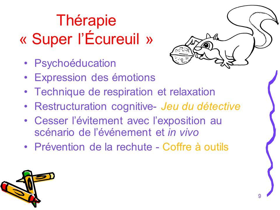 Thérapie « Super l'Écureuil »