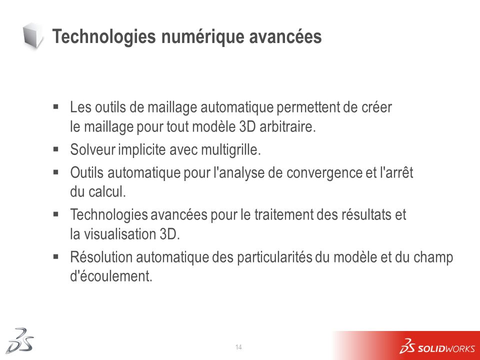 Technologies numérique avancées