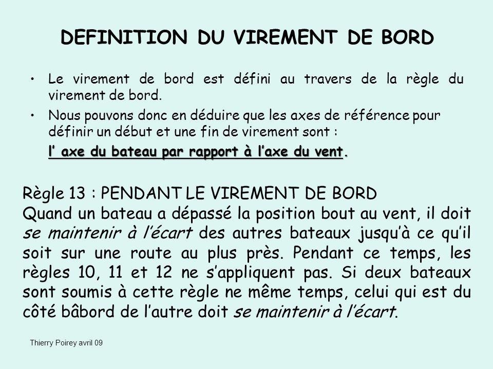 DEFINITION DU VIREMENT DE BORD