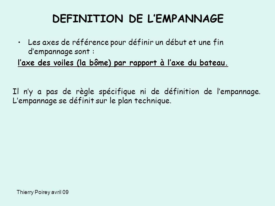 DEFINITION DE L'EMPANNAGE