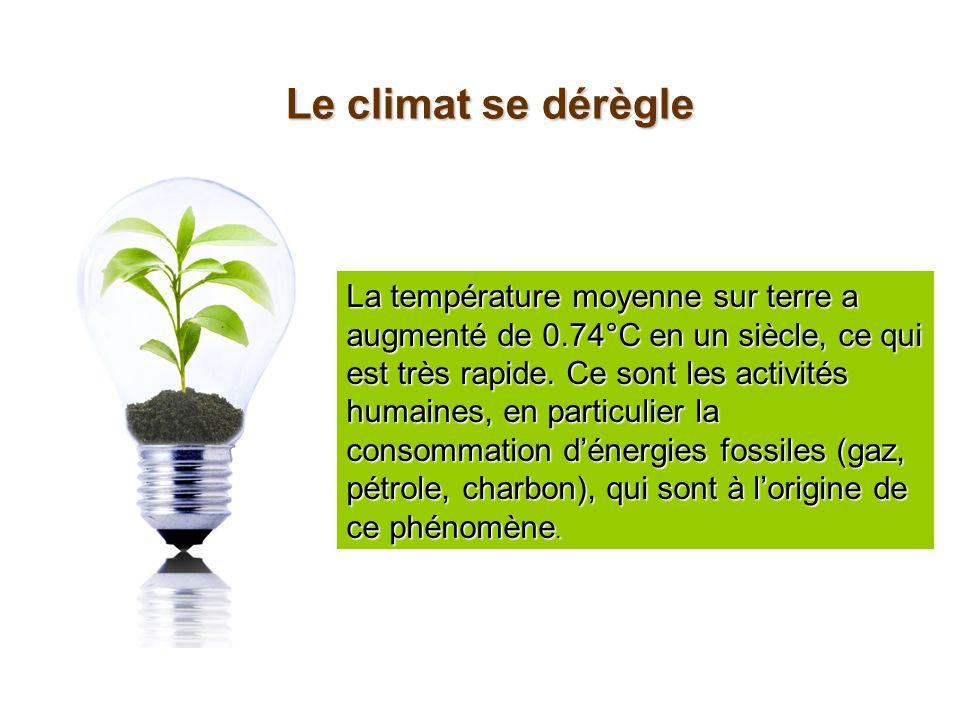 Le climat se dérègle