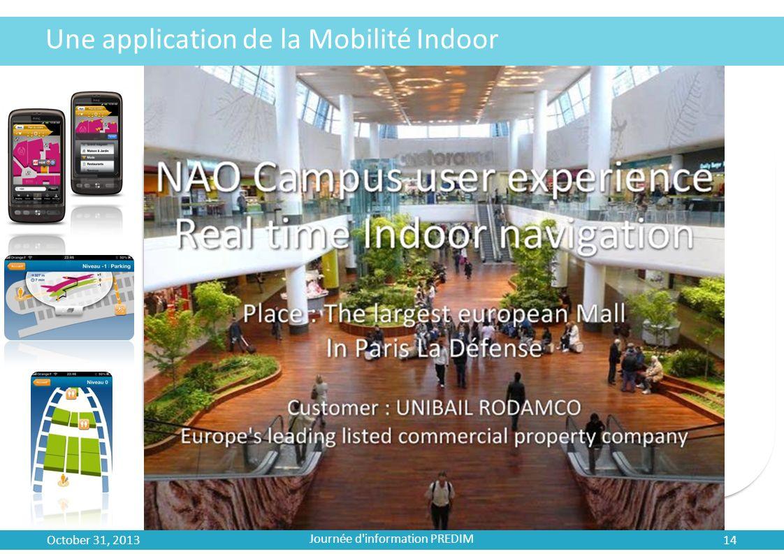 Une application de la Mobilité Indoor