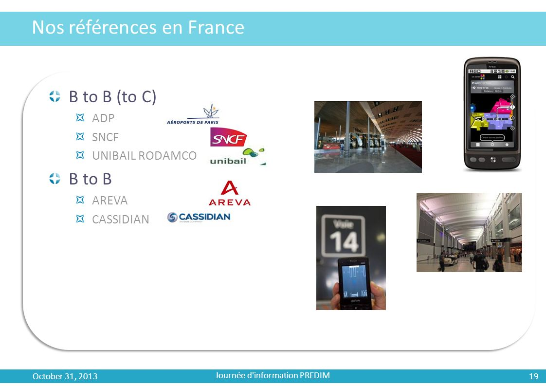 Nos références en France