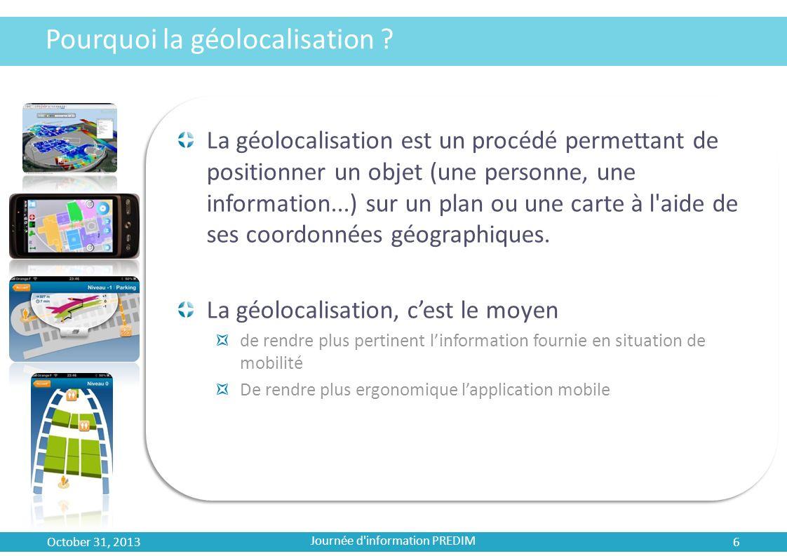 Pourquoi la géolocalisation