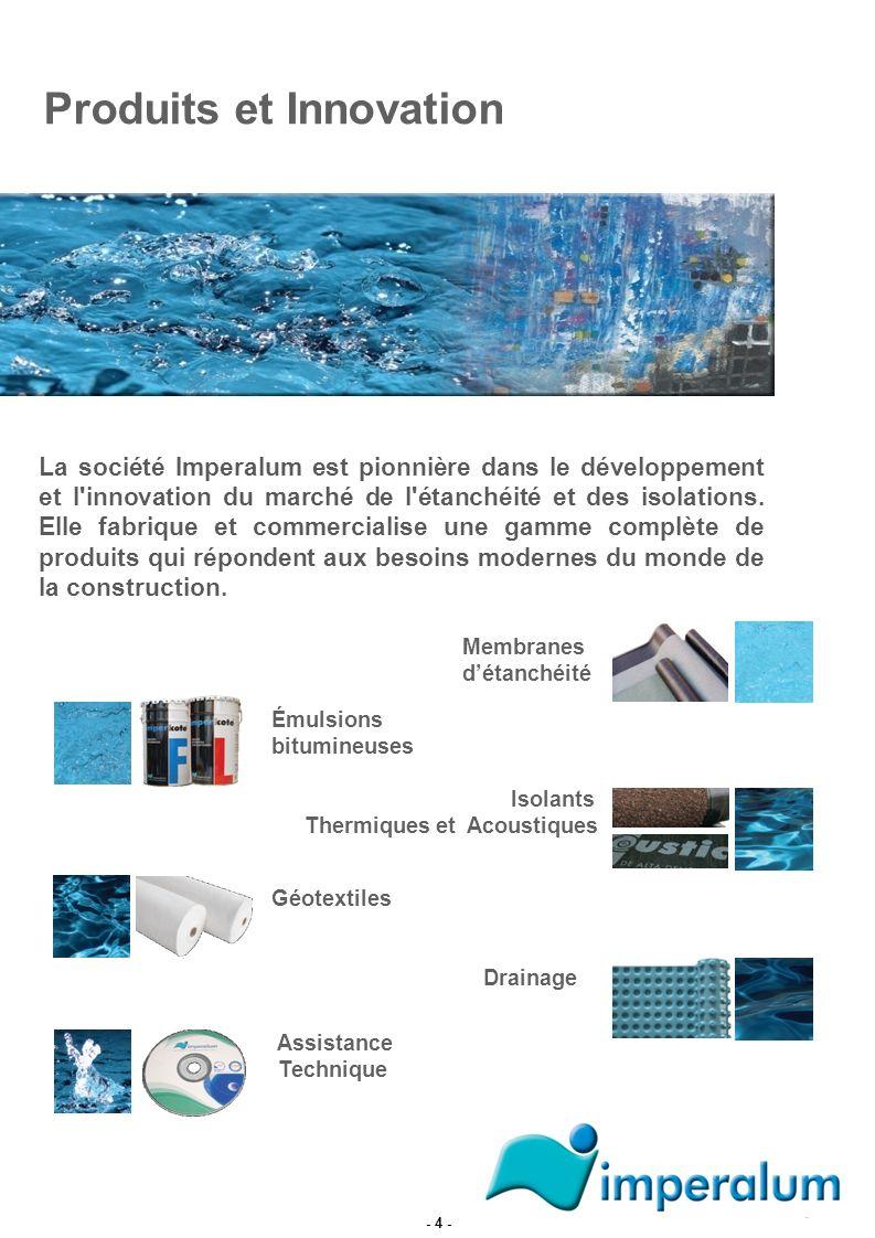 Produits et Innovation