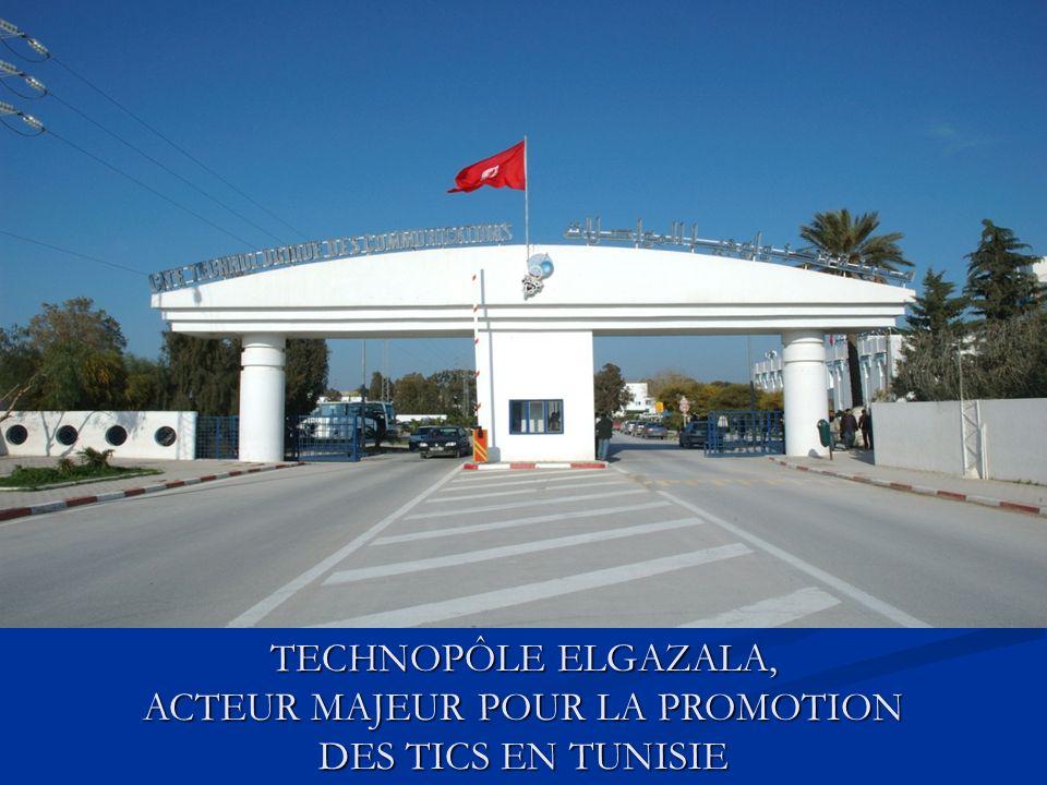 TECHNOPÔLE ELGAZALA, ACTEUR MAJEUR POUR LA PROMOTION DES TICS EN TUNISIE