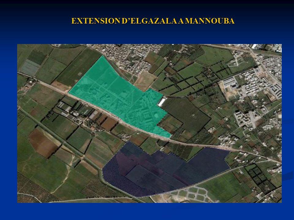 EXTENSION D'ELGAZALA A MANNOUBA