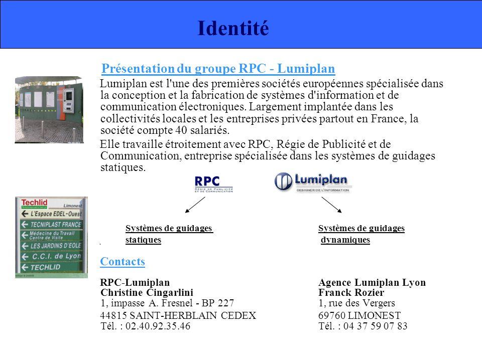 Présentation du groupe RPC - Lumiplan