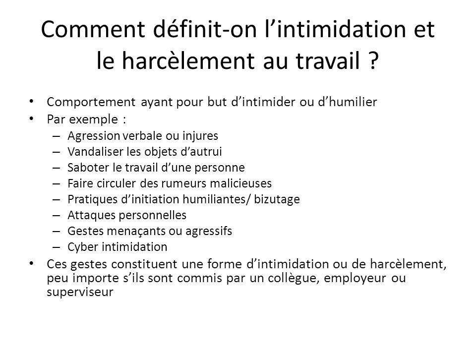Intimidation et harc lement au travail ppt t l charger - Comment porter plainte pour harcelement ...
