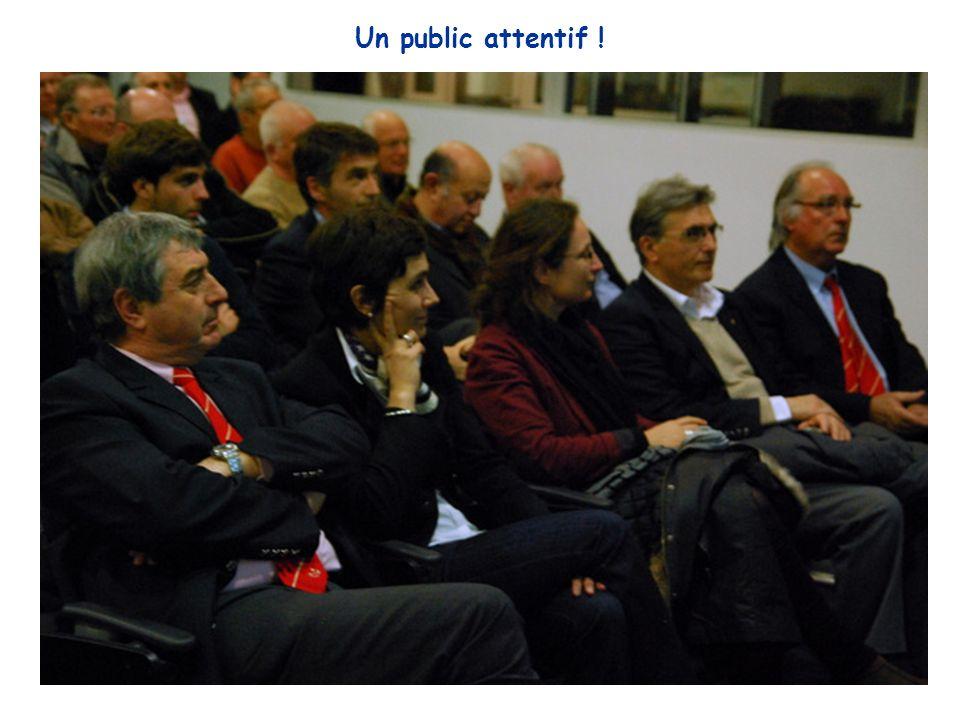 Un public attentif !