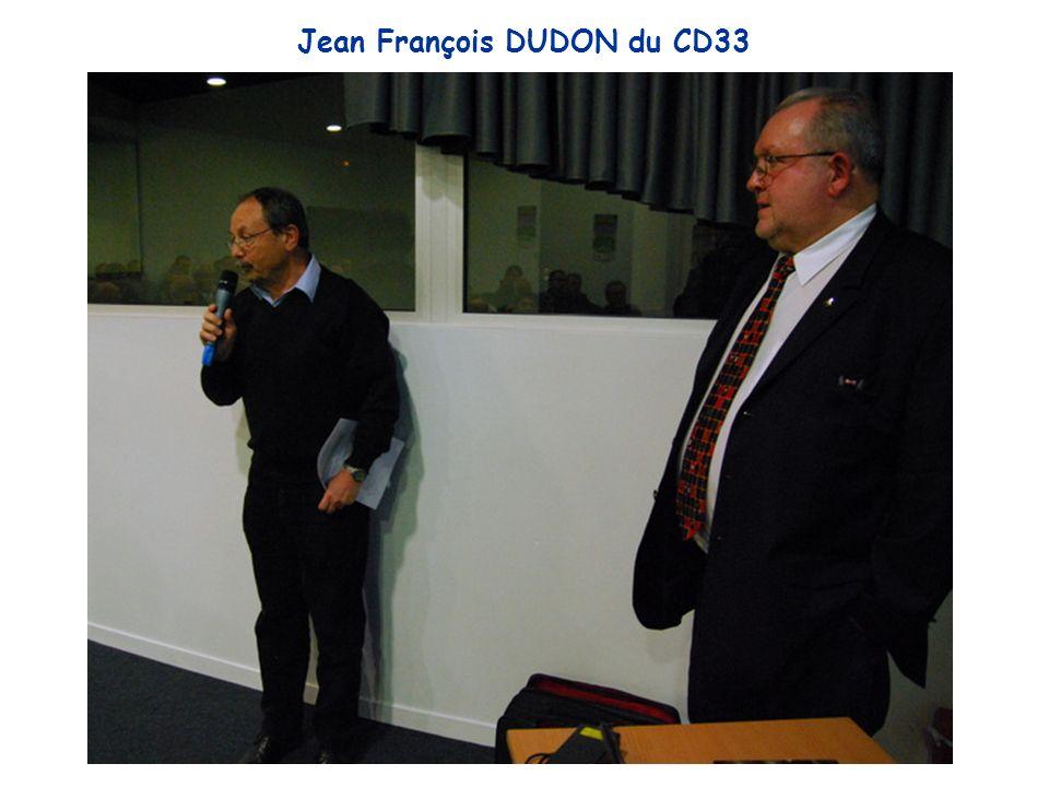 Jean François DUDON du CD33