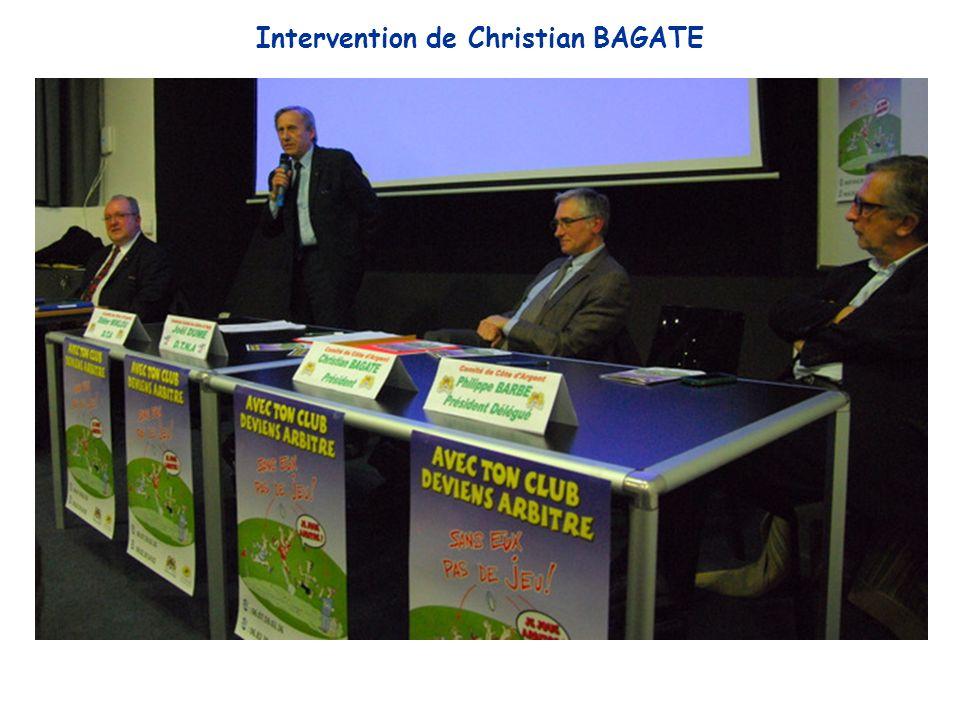Intervention de Christian BAGATE