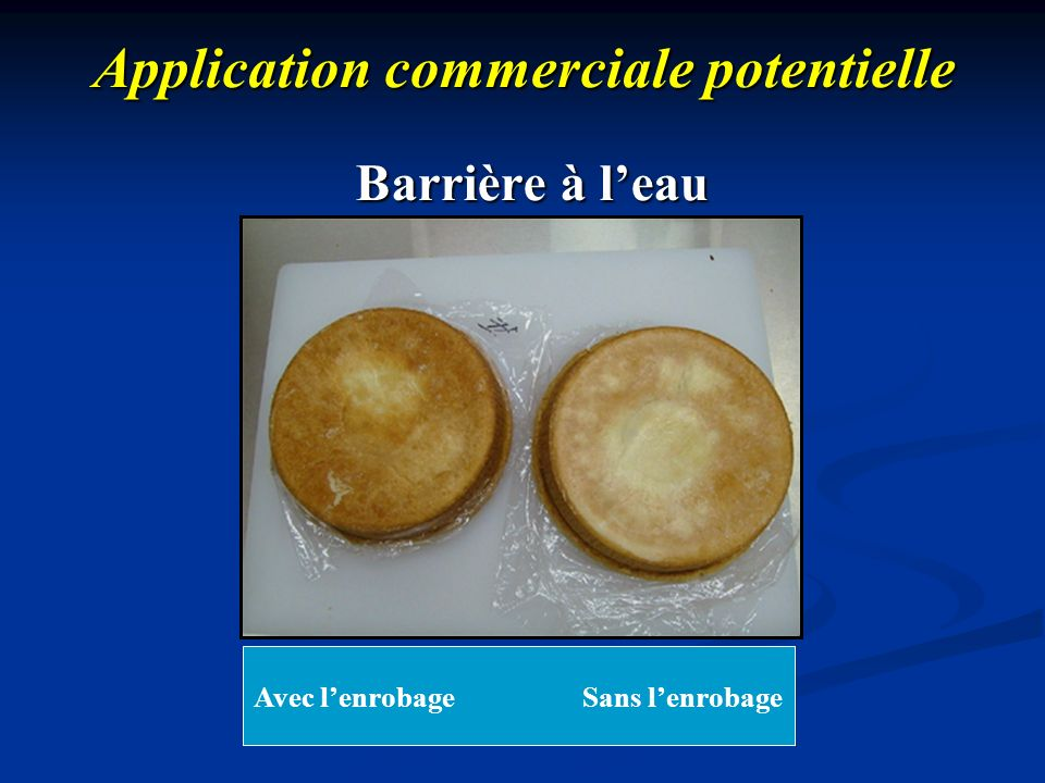 Application commerciale potentielle