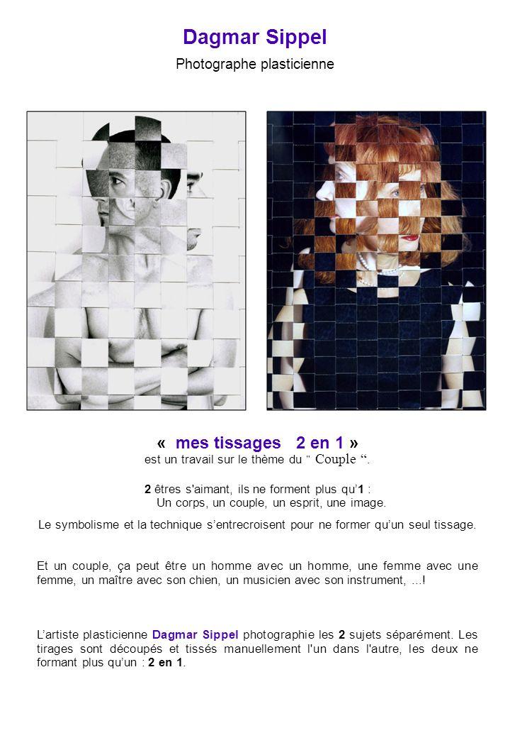 Dagmar Sippel « mes tissages 2 en 1 » Photographe plasticienne 3