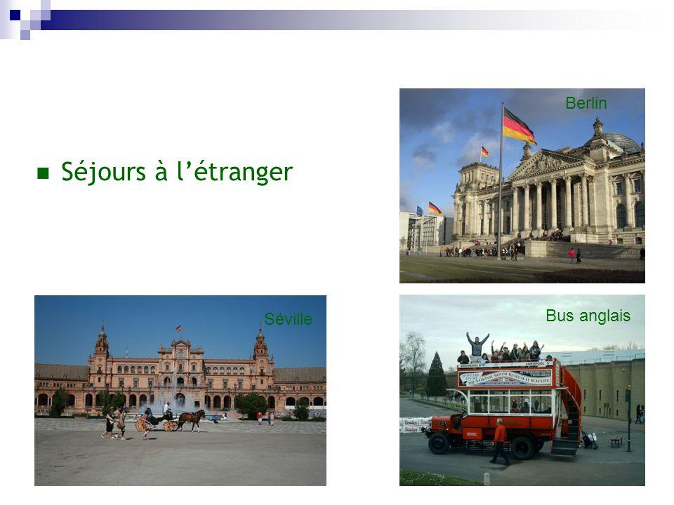 Berlin Séjours à l'étranger Séville Bus anglais