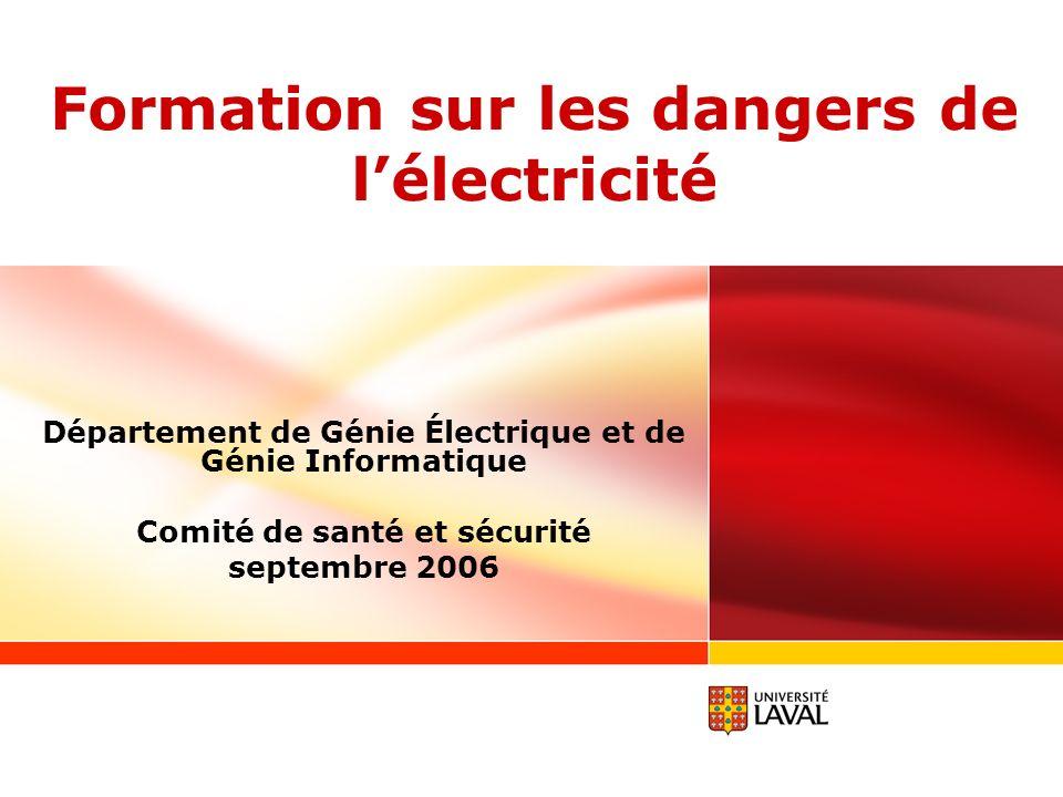 Formation sur les dangers de l lectricit ppt video for Dangers de l electricite