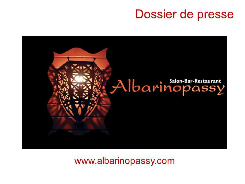 Dossier de presse www.albarinopassy.com 5 avril 2006
