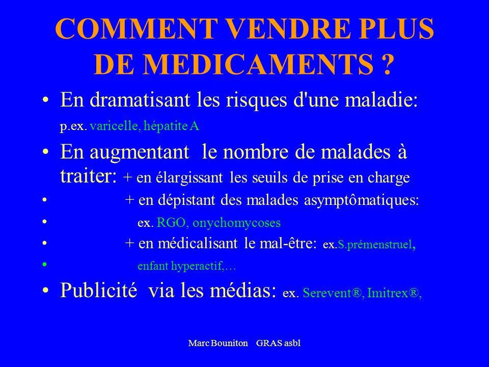 COMMENT VENDRE PLUS DE MEDICAMENTS