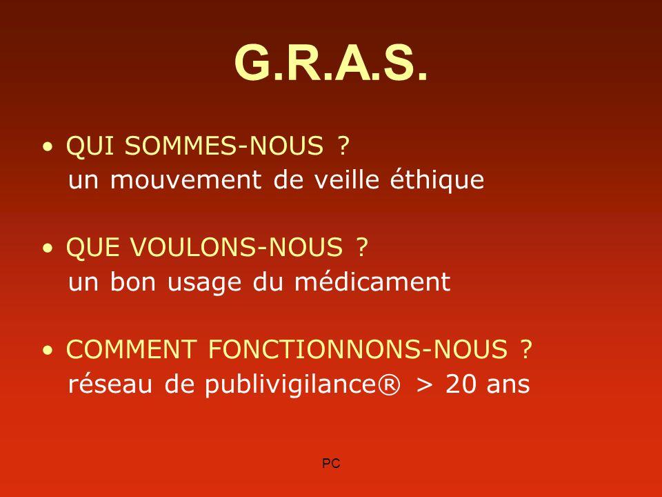 G.R.A.S. QUI SOMMES-NOUS un mouvement de veille éthique