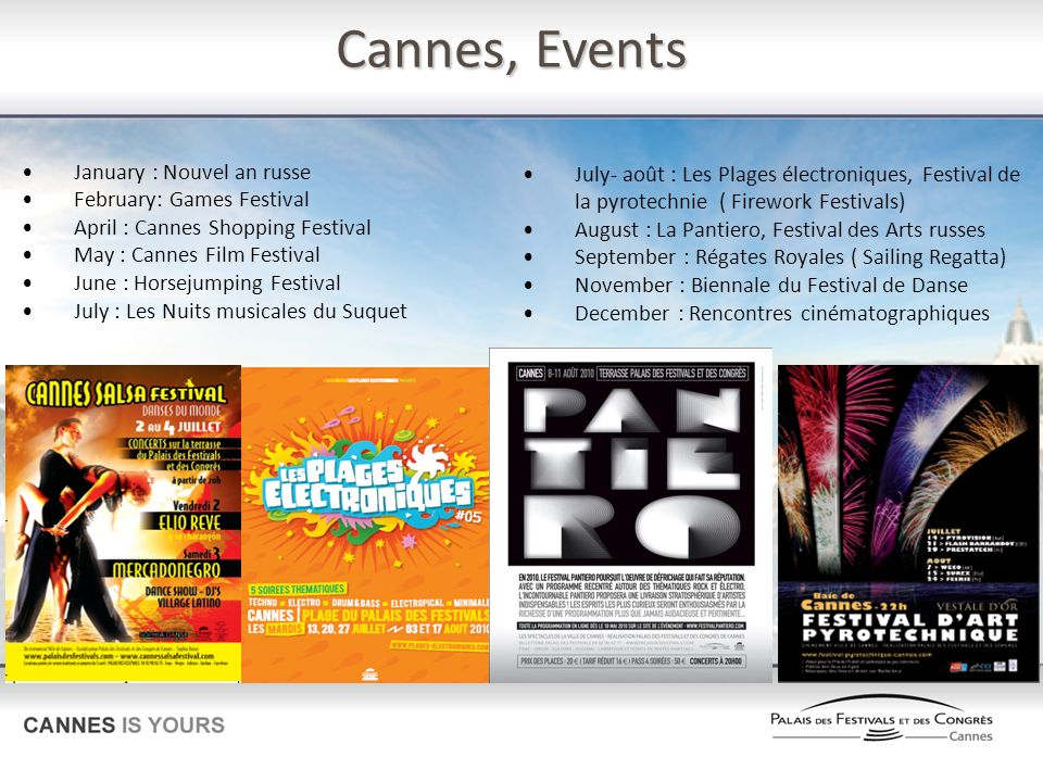 Cannes, Events January : Nouvel an russe
