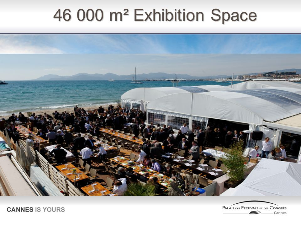 46 000 m² Exhibition Space