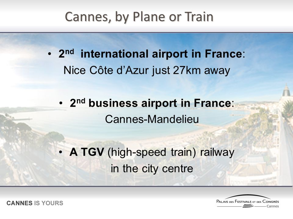Cannes, by Plane or Train