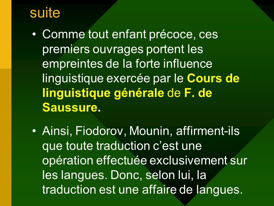 theorie et pratique de la traduction ppt t l charger On portent traduction