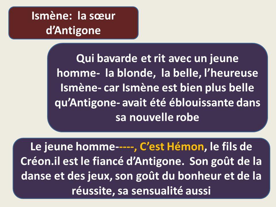 Ismène: la sœur d'Antigone
