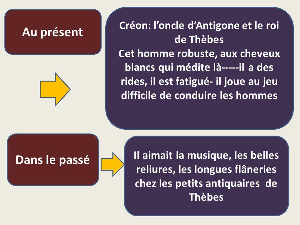 Créon: l'oncle d'Antigone et le roi de Thèbes
