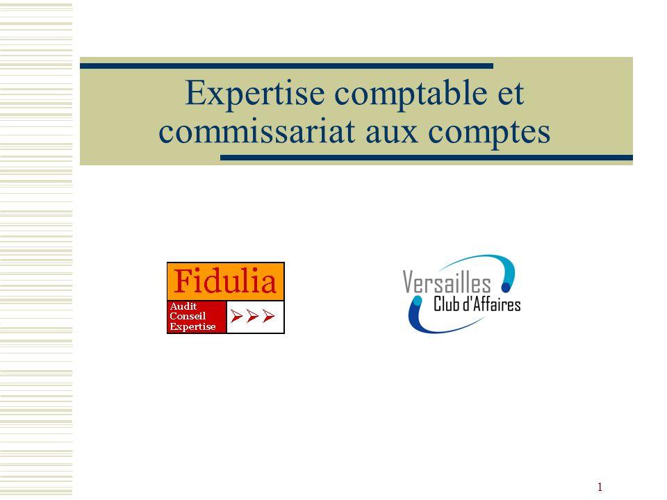 Expertise comptable et commissariat aux comptes