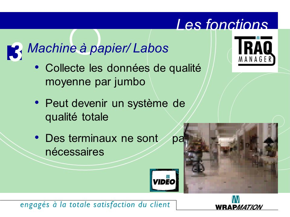 3 Les fonctions Machine à papier/ Labos