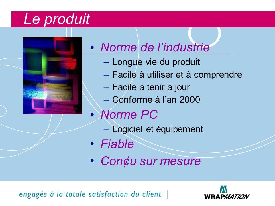 Le produit Norme de l'industrie Norme PC Fiable Con¢u sur mesure