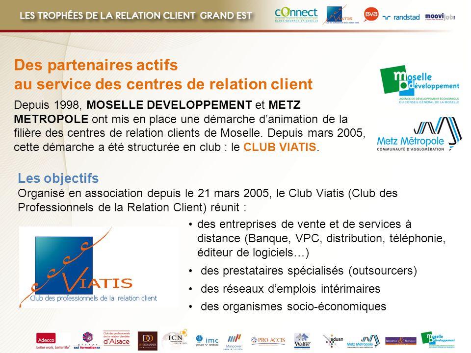 Des partenaires actifs au service des centres de relation client