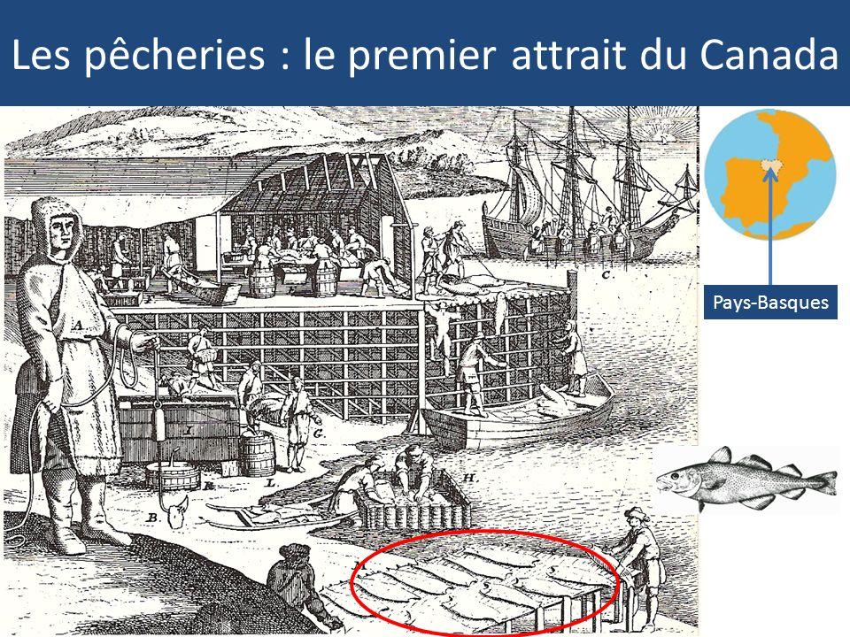 Les pêcheries : le premier attrait du Canada
