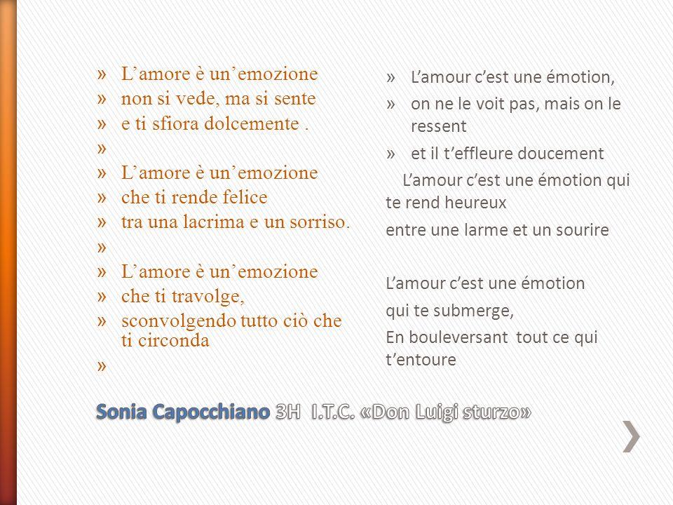 Sonia Capocchiano 3H I.T.C. «Don Luigi sturzo»