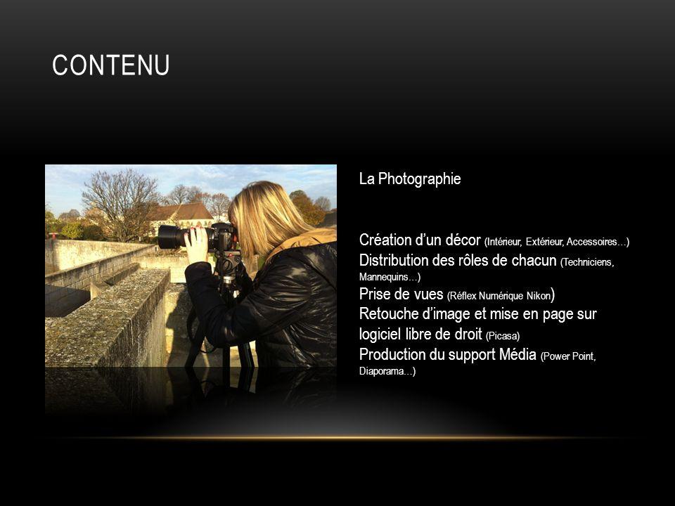 Contenu La Photographie