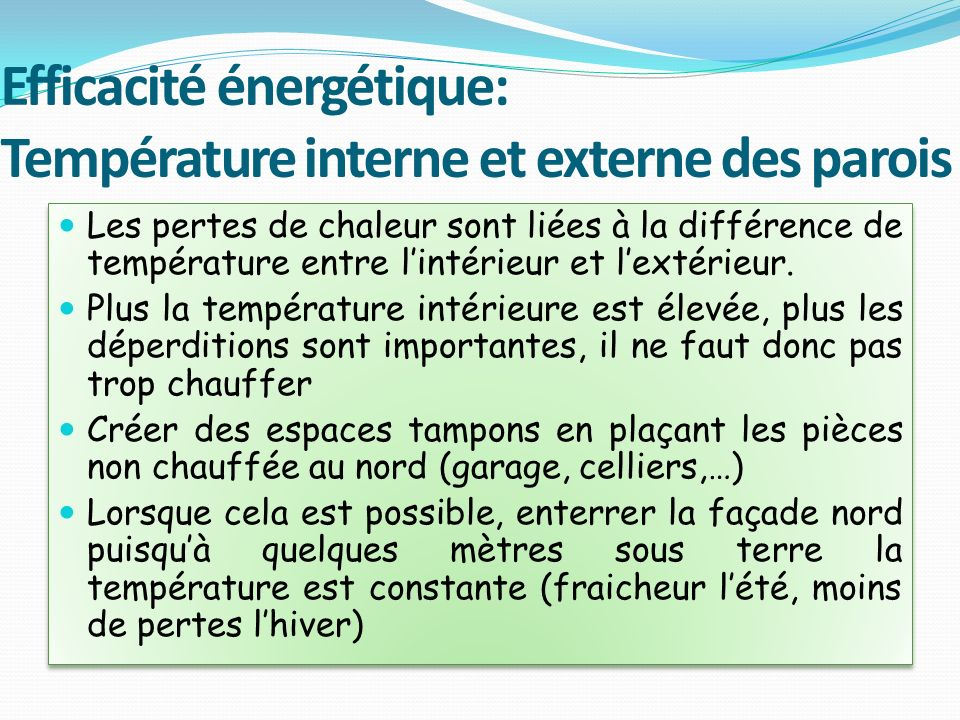 Pourquoi un b timent energie positive ppt video for Chauffer un garage non isole