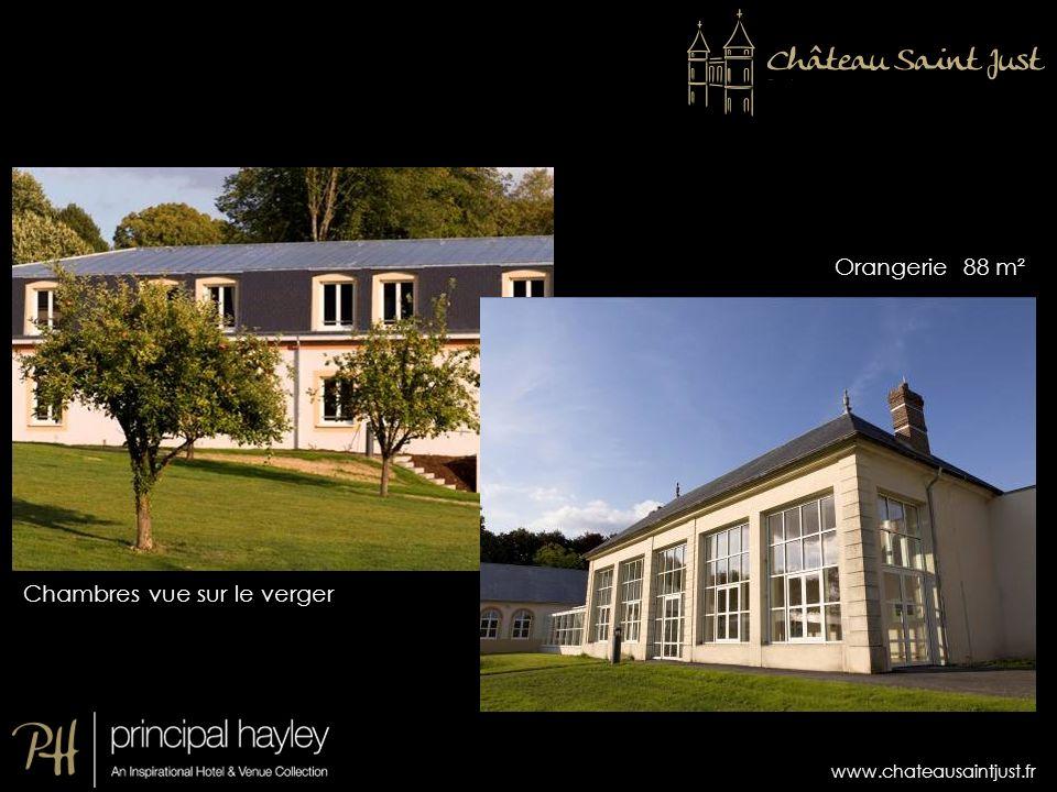 Orangerie 88 m² Chambres vue sur le verger