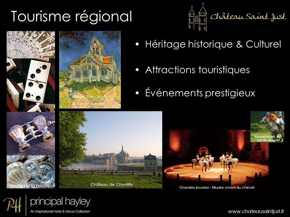 Tourisme régional Héritage historique & Culturel