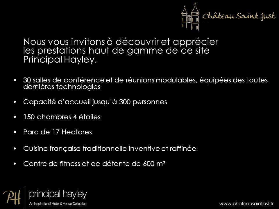 Nous vous invitons à découvrir et apprécier les prestations haut de gamme de ce site Principal Hayley.